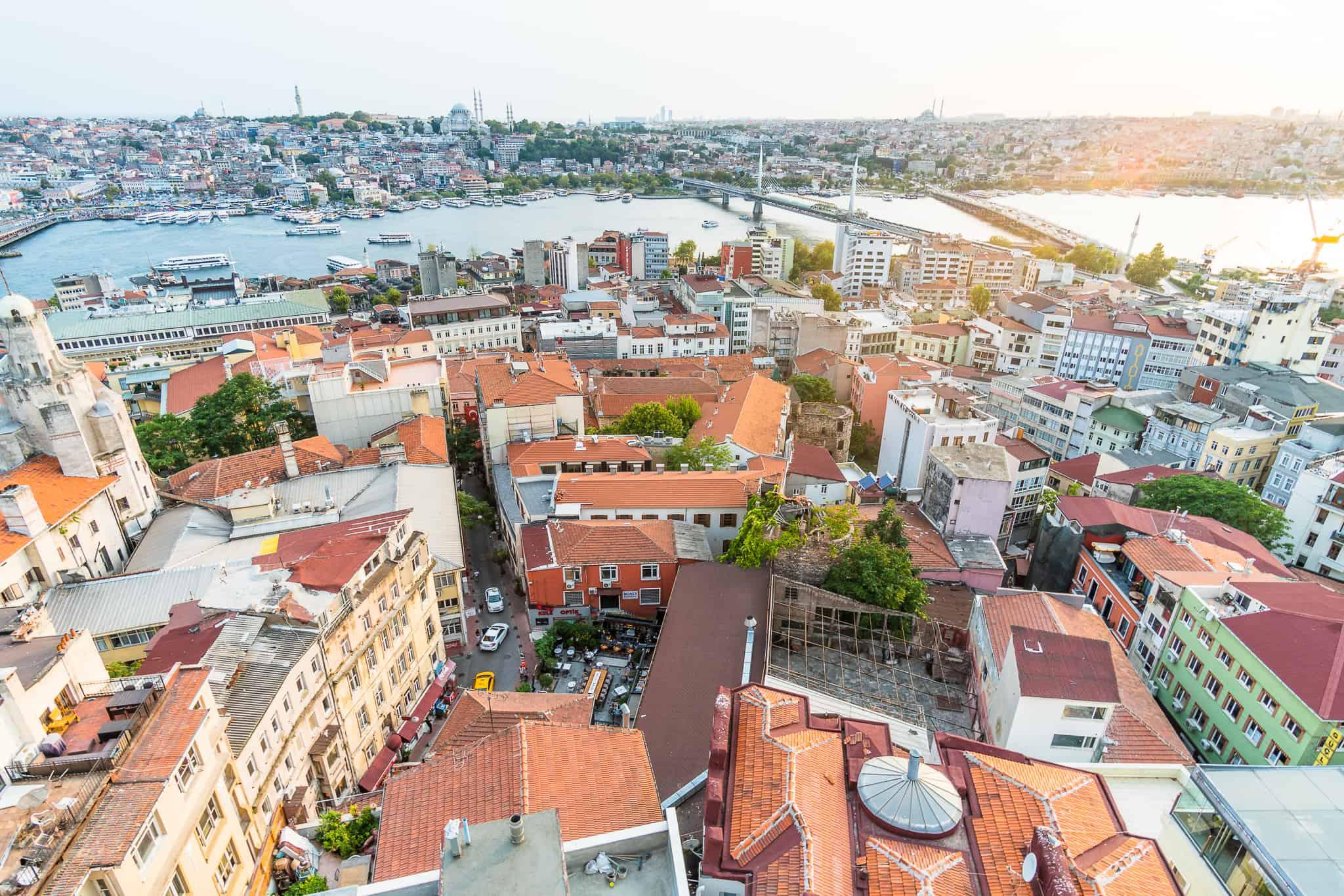 Istanbul-air-view