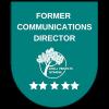 comm director badge